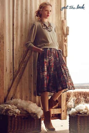 Anthropologie fall 2014 look